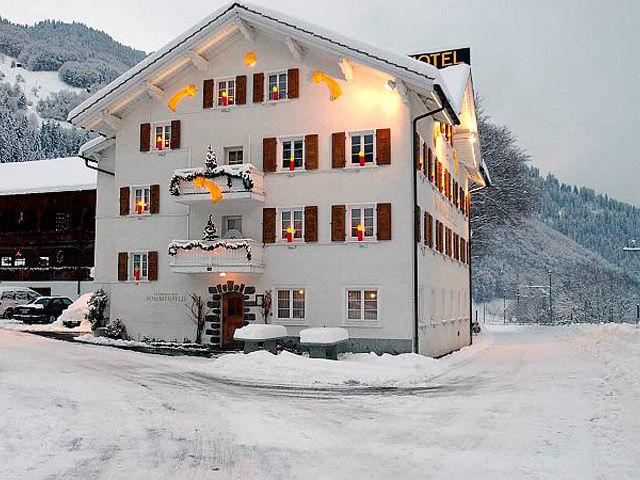 Sommerfeld im Winter