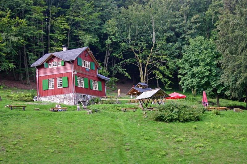 Regenberghütte