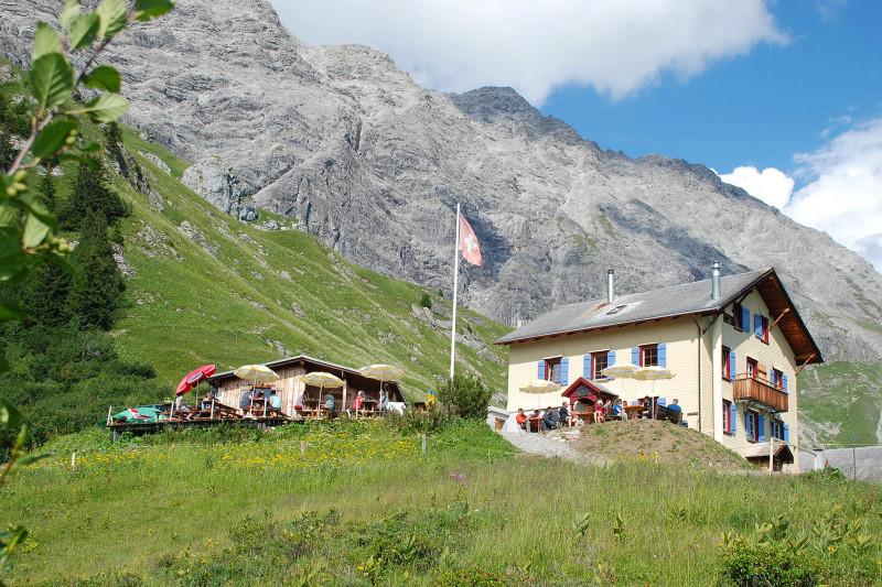 Schesaplanahütte SAC