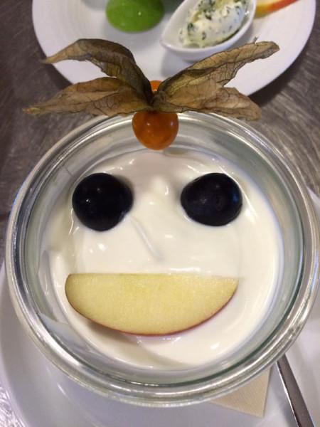 Joghurt mit Smiley