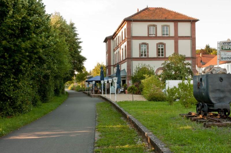 Historischer Bahnhof Gersheim ©Roman Schmidt