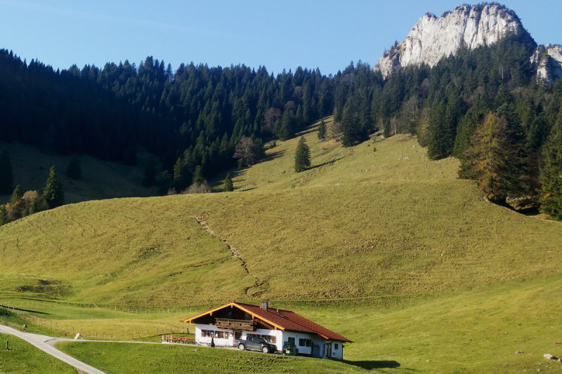 Deindlalm am Heuberg © Chiemsee-Alpenland Tourismus