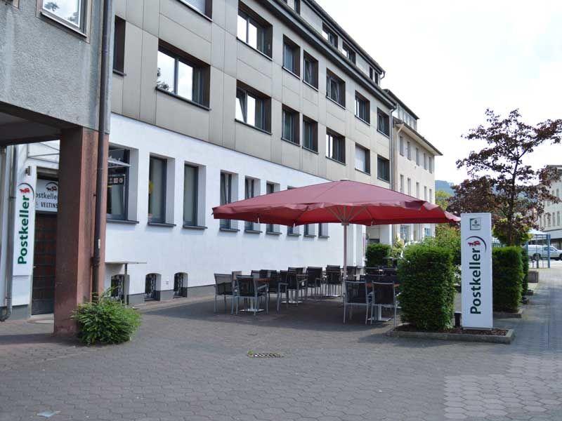 Postkeller Meschede - Terrasse