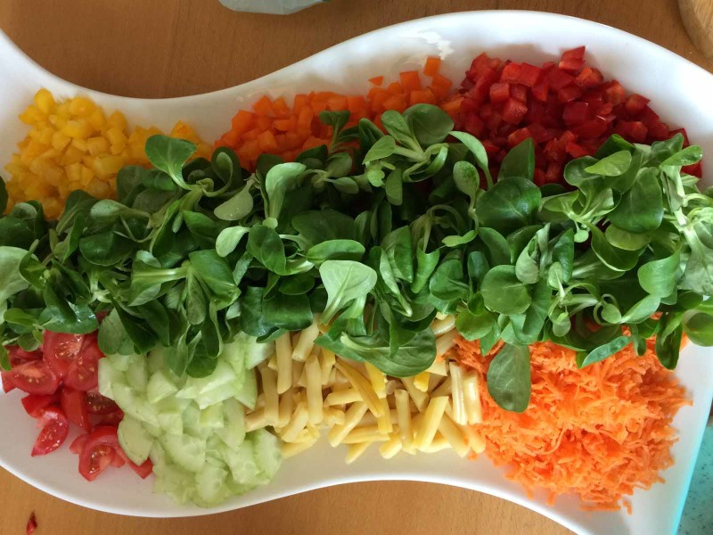 Salatteller (Beispielbild)