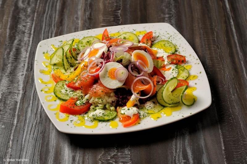 Salatteller | © Volker Hielscher