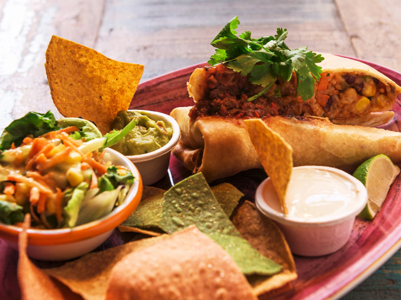 Enchilada chimichanga