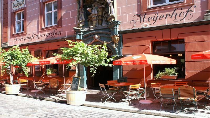 Grosser Meyerhof Außenbewirtung