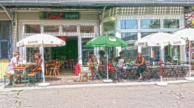 Hofcafe Corosol exterior view_Copyright Dirk Hollstein