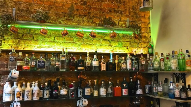 Monkey Garden bar