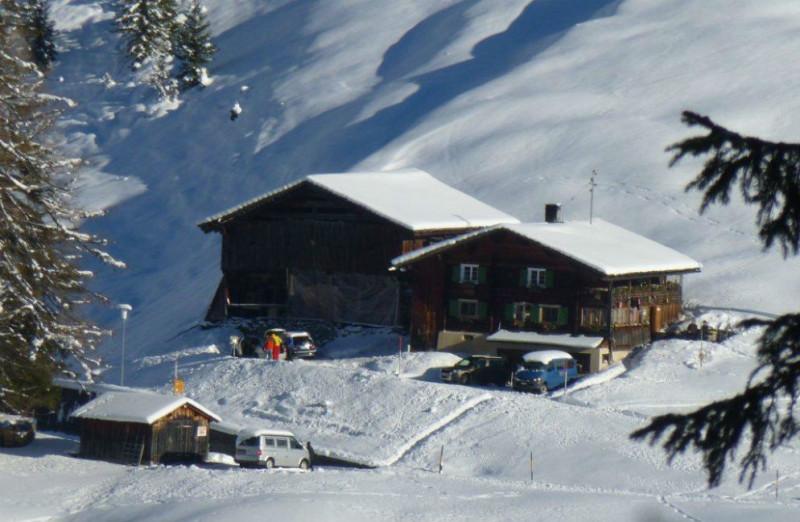 Haus Türli im Winter