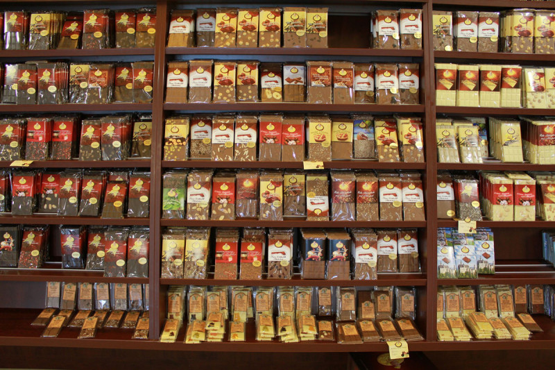 Schokoladensortiment Confiserie Dengel