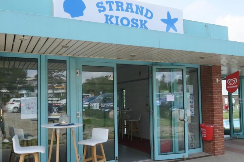 Strand Kiosk in Schobüll (c) Stadtwerke Husum