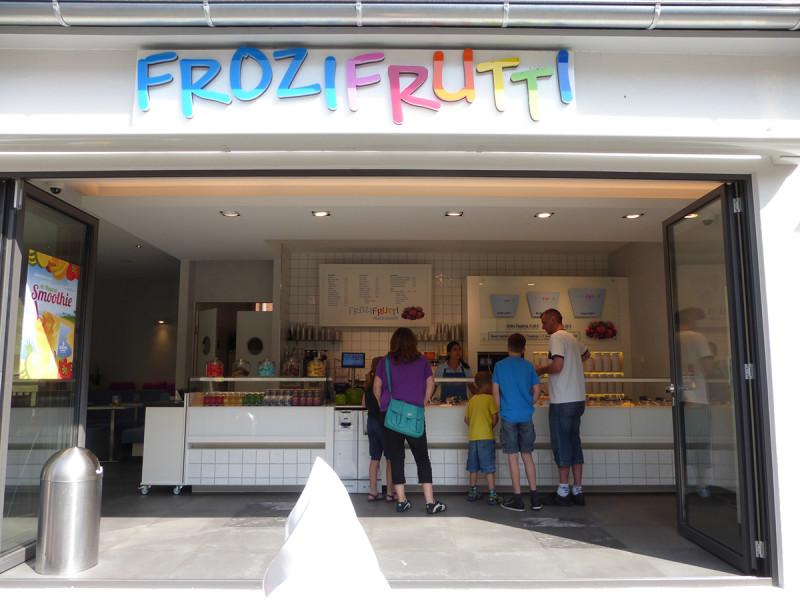 Frozen Joghurt in Tübingen bei Frozifrutti