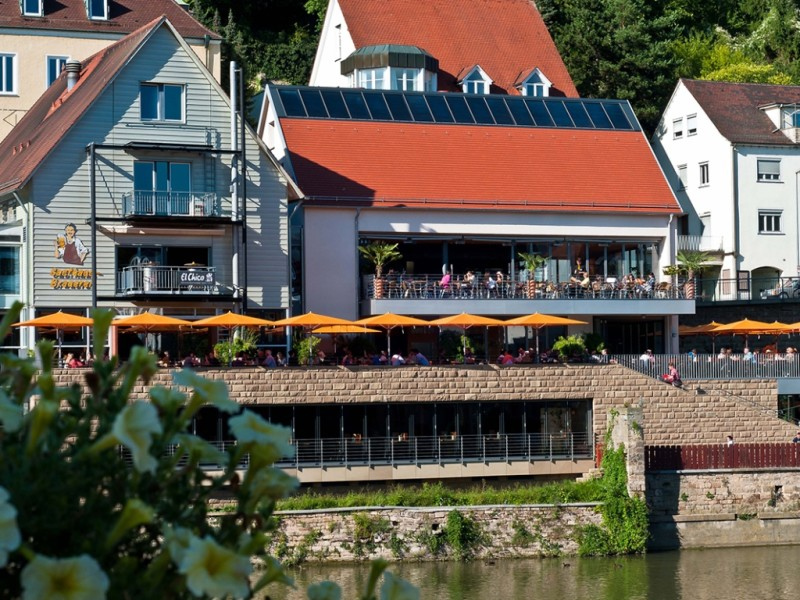 Gasthausbrauerei und Biergarten Neckarmüller in Tübingen