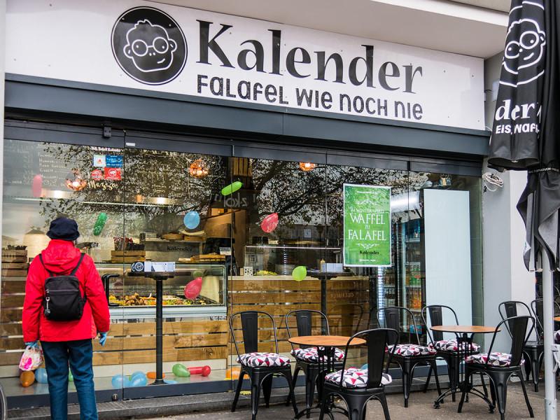 Kalender, vegetarische und vegane mediterrane Köstlichkeiten in Tübingen
