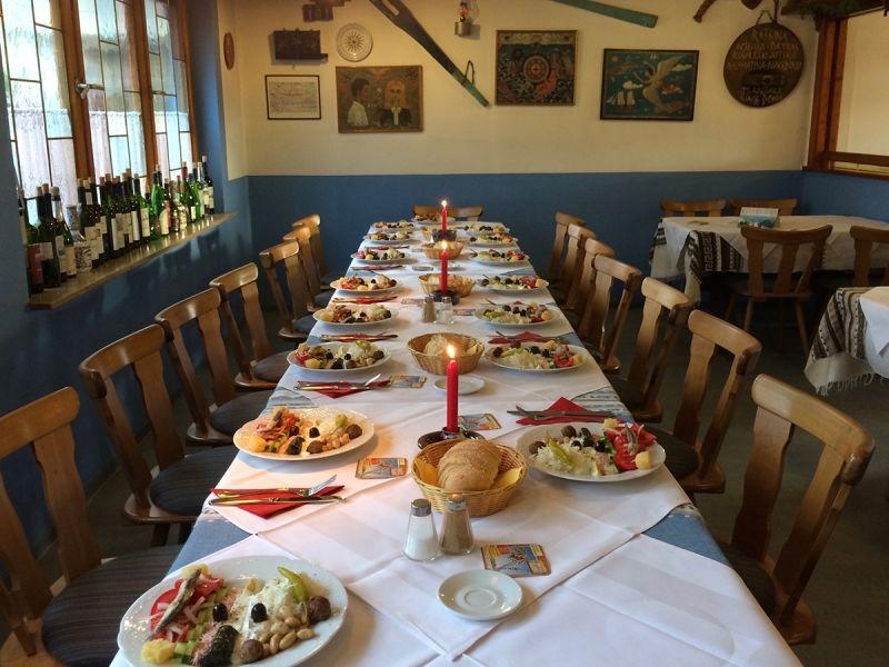 Griechisches Naturkost-Spezialitätenrestaurant Ägäis in Entringen