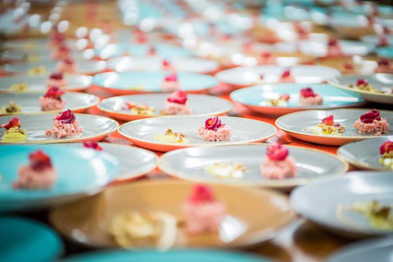 Saiblingstatar - Rote Beete - Walnuss © Bernhards´s Restaurant & Landhotel
