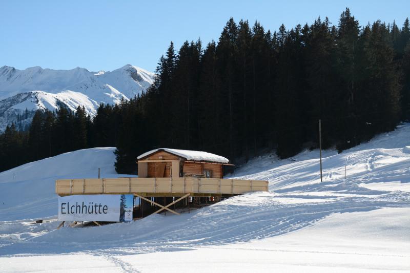 Elchhütte © Julia Isler