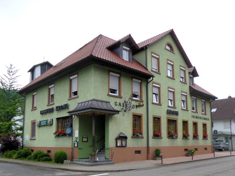 Gasthaus Krone Gutach Außenansicht