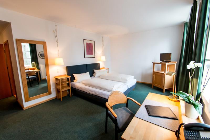 Hotelzimmer ©Hoftaferne Neuburg