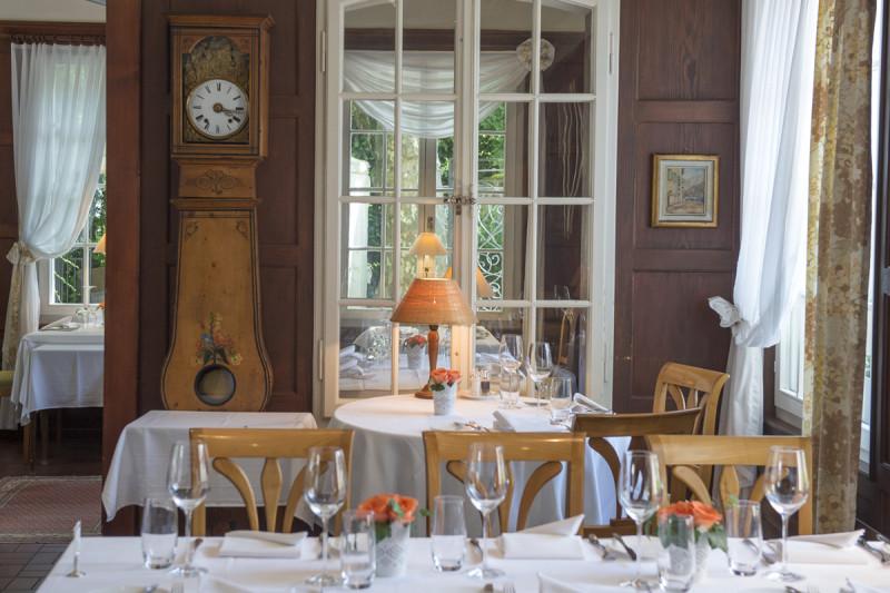 Das elegante Gartenzimmer im Romantik Hotel Sternen Kriegstetten