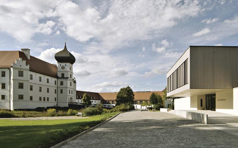 Außenansicht des Schloss Hohenkammern