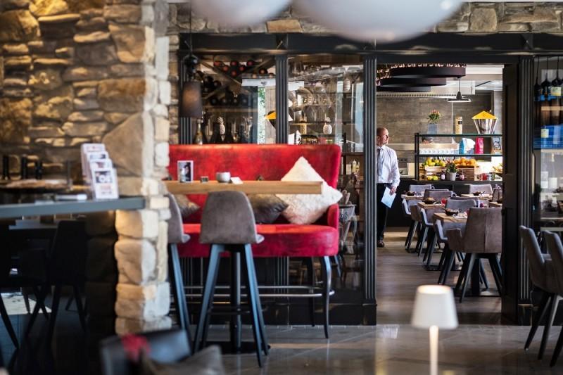 Restaurant im Eriks Hotel in Fürholzen bei Neufahrn