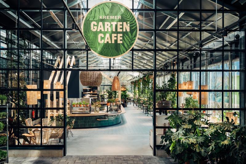 Gartencafé im Naturgartencenter Kremer
