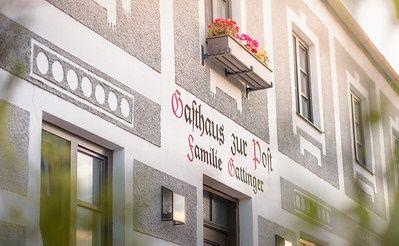 Historische Fassade vom Gasthof