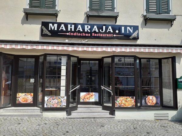 Maharaja.In Außenansicht