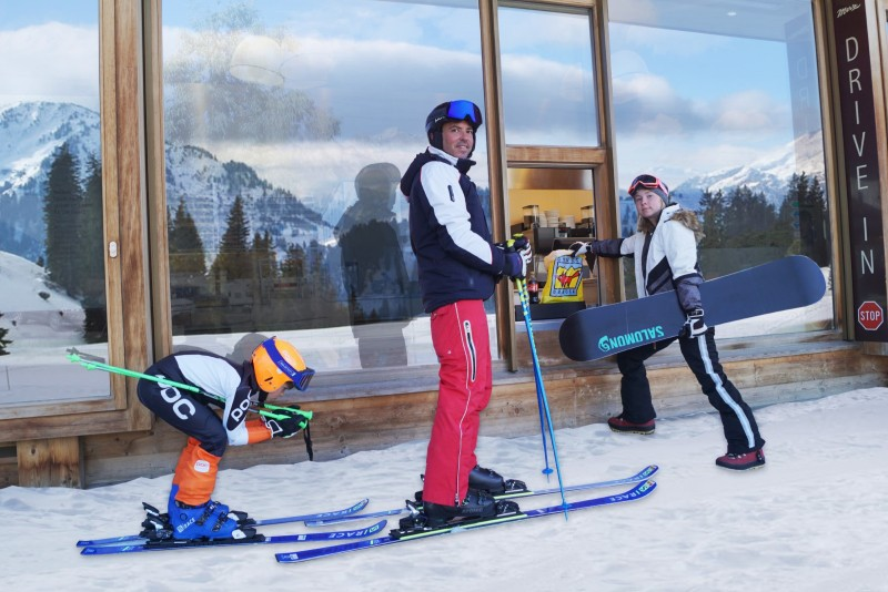 Ski-Drive-In / Take-Away Grüsch-Danusa