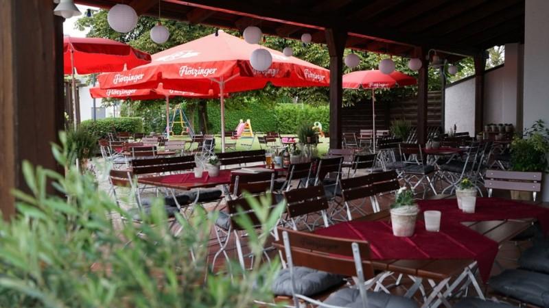 Terrasse und Biergarten der Westerberg Stub´n©Westerberg Stub´n